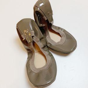Yosi Samra 'Samara' Foldable Patent Ballet Flats